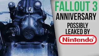 Potential Nintendo Leak Reveals 15 Games for E3, Including Fallout 3 Anniversary