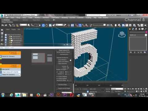Unfolding Effect using 3DS Max Foldmesh FX by (Vladislav