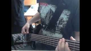Dark Funeral - Dark Are The Paths To Eternity bass cover