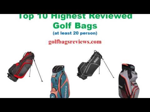 Top 10 highest reviewed golf bags