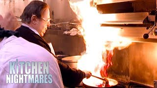 Owners Struggle To Cook In A Kitchen Full Of Broken Equipment | Kitchen Nightmares