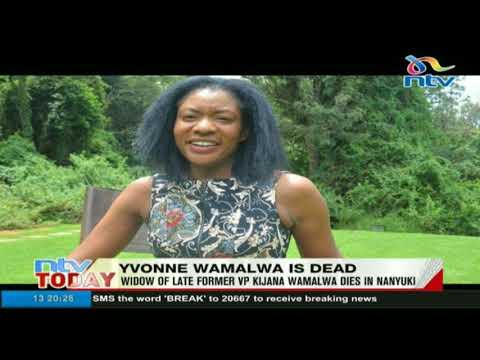 Yvonne Wamalwa is dead