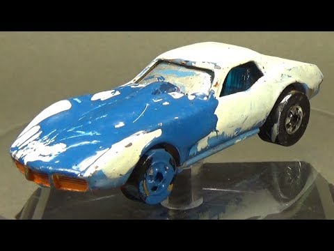 Restoring a 1980's Hot Wheels Corvette Stingray