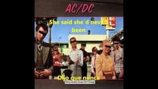 AC/DC Squealer  subtitulada en español e ingles