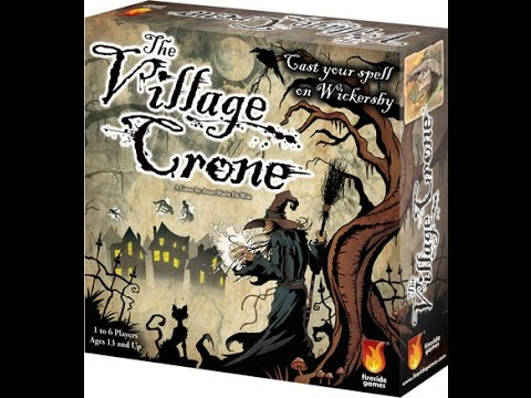 """The village crone """"Review and how to play"""" with Geekedupgaming"""