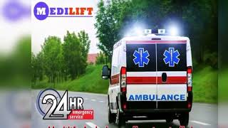 Take Road Ambulance in Saket by Medilift at a Minimum Cost