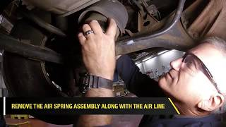 How To Fix The Front And Rear Suspension On A Lexus LX470