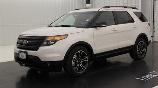 New 2015 Ford Explorer Sport Walkaround