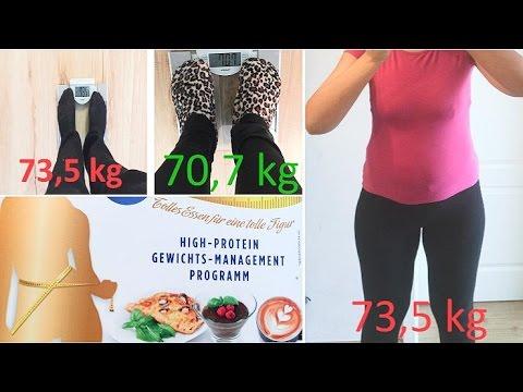 Ob man auf 6 kg für die Woche abmagern kann