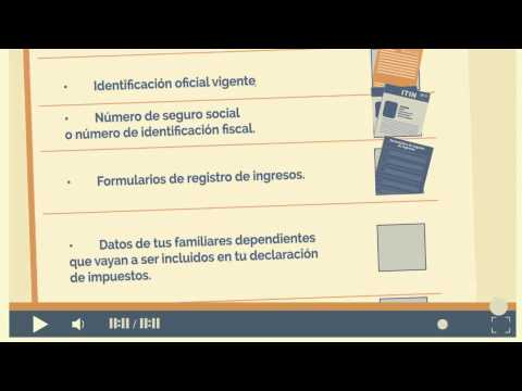 Cómo presentar declaración de impuestos en E.E.U.U.