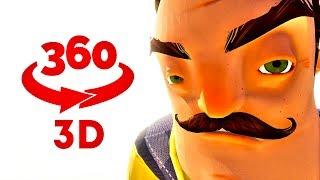 Hello Neighbor 360 || VR 360 in Stereo 3D