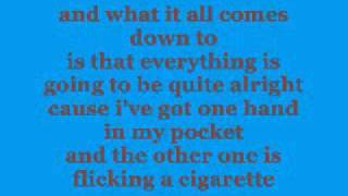 Hand In My Pocket - Lyrics