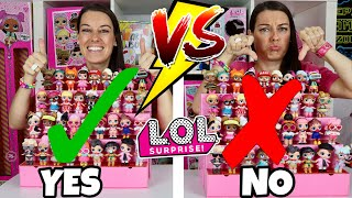 EXPECTATIONS VS REALITY of LOL SURPRISE POP-UP STORE | How to STORE & ORGANIZE & DISPLAY LOL DOLLS!!
