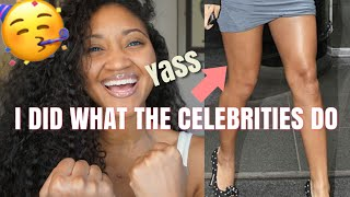 I FINALLY got rid of ALL my cellulite! This WORKS! I did exactly what the celebrities do.