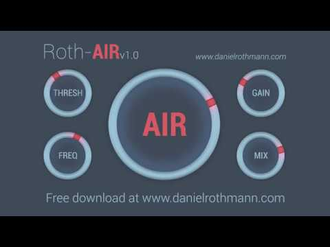 Roth-AIR Examples (Free VST / AU Plug-In)