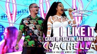 Cardi B Bad Bunny & J Balvin   I Like It   Live At Coachella 2018 Weekend 2