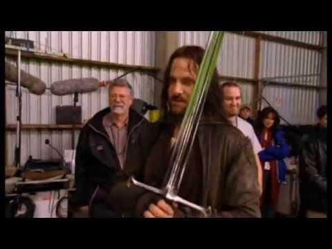 Viggo Mortensens last day as Aragorn.