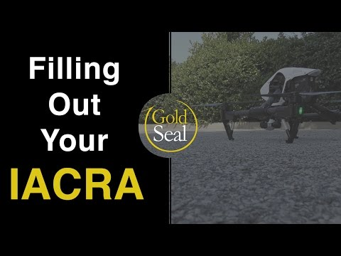 Part 107 Remote Pilot Test   Filling Out Your IACRA - YouTube