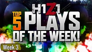 H1Z1 TOP 5 PLAYS OF THE WEEK #3 (H1Z1 King of the Kill)