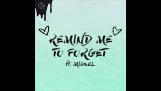 Kygo, Miguel   Remind Me To Forget (Wvtaw Remix)