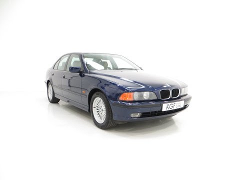An Outstanding BMW E39 523i SE With One Owner And Just 32,647 Miles - £5,395