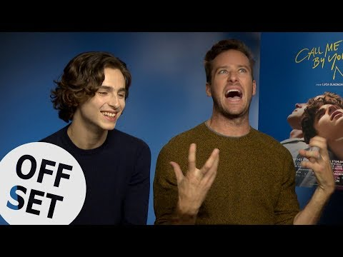 Armie Hammer never wants to dance in a film ever again