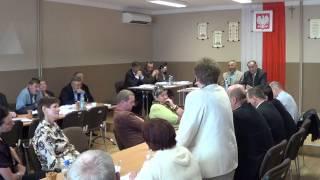 XXXII sesja Rady Gminy Chorkówka (1)