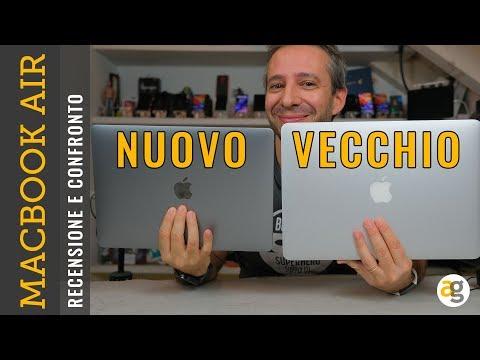 Recensione MACBOOK AIR 2018 e confronto VECCHIO modello Apple