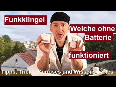 ✅Batterielose Funkklingel DAZAKA Wasserdicht Türklingel mit 150M Reichweite, 38 Melodie Test deutsch