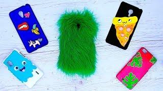 14 идей чехлов для телефона своими руками