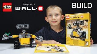 New WALL-E LEGO Set Build & Review 21303