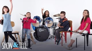 Show and Tell Musical Talent! | Show and Tell | HiHo Kids