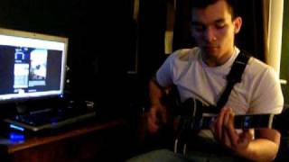 Over My Head (Cable Car ) Cover WITH TAB IN INFO  - A Day to Remember Cover of the Fray