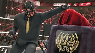 REY MYSTERIO REVEALS CORPORATE 619 CHAMPIONSHIP! | WWE 2K20 Universe Mods