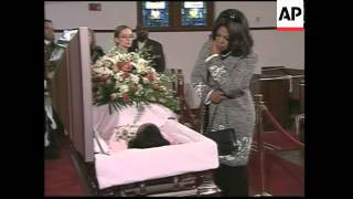 Martin Luther King's widow lies in honour for public viewing