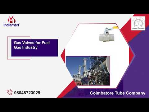 Wholesaler of Gas Valves & Gunmetal Valves by Coimbatore