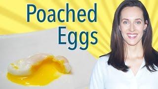 poach eggs in a muffin tin