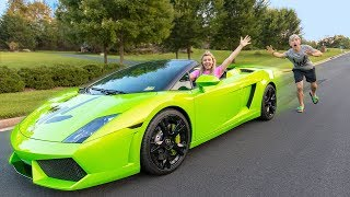 MY SISTER STOLE MY LAMBORGHINI AND IT BROKE!!