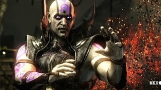 Mortal Kombat X Quan Chi Interactions / Куан Чи Диалоги