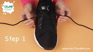 How to TIE YOUR SHOELACES 👟| Step by Step Guide for Kids