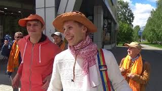 Харинама-санкиртана в Екатеринбурге, 10.06.2018