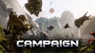 """""""Halo 4"""" E3 2012 Campaign Gameplay Mission 1"""