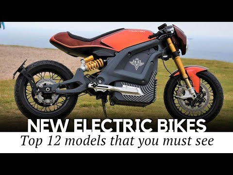 12 New Electric Motorcycles that Will Revolutionize Personal Transport in the Upcoming Years