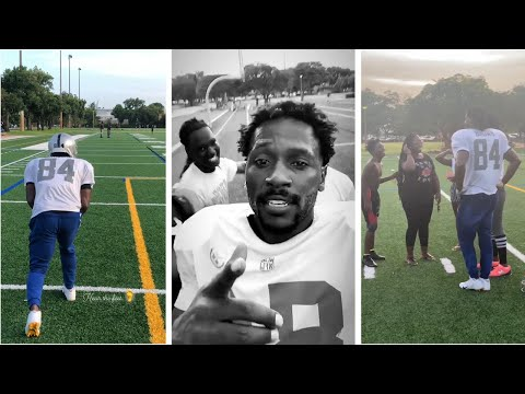 Antonio Brown Rumored To Have Seattle Seahawks Interest, Gets Workout With Local Kids