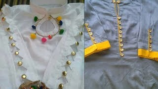 Top 40 Suit Designing With Laces Accessories | New Lace Design Ideas On Salwar & Punjabi Suit 2019