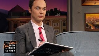 Jim Parsons Can't Remember Complex Math Equations