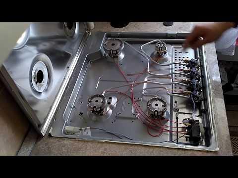 НЕ работает электророзжиг на варочной панели BOSCH