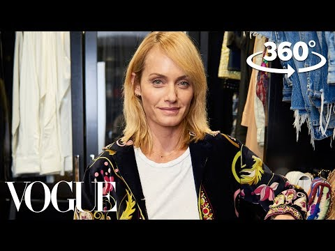 Supermodel Amber Valletta Takes You on a 360° Tour of Her Closet | Supermodel Closets | Vogue