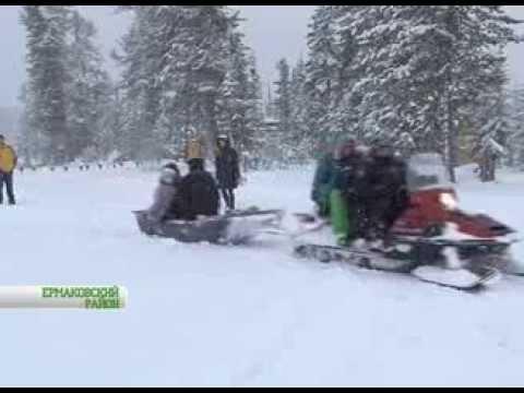 Видео: Видео горнолыжного курорта Ергаки в Красноярский край