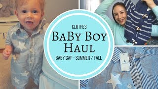 Baby Clothes Haul - Baby Boy 1 Year Old Baby Gap Shopping Haul!